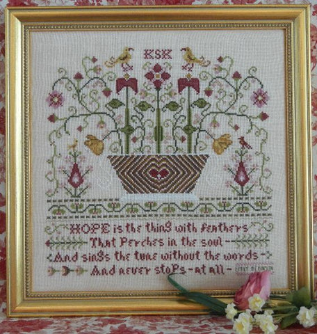 Hope Sampler Cross Stitch | S-1049 | Rosewood Manor
