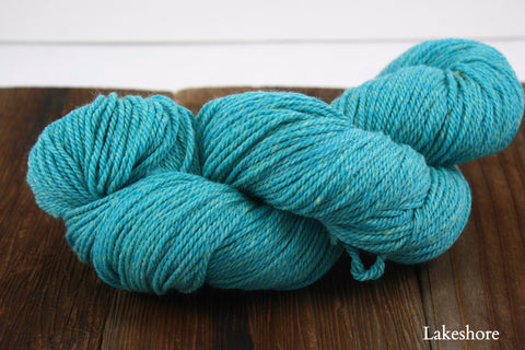 Shepherd's Wool Worsted Weight Yarn | Stonehedge Fiber Mill