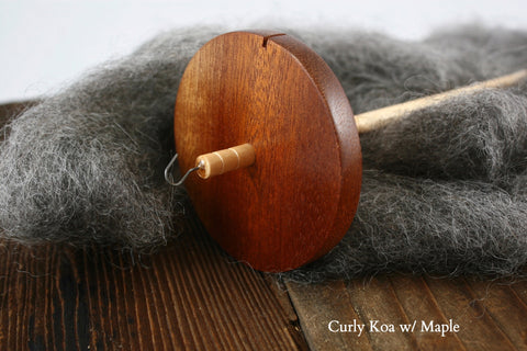 Wooden Drop Spindle | 3G Wood Works