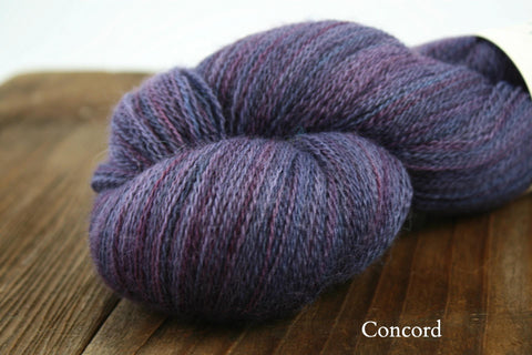 Concord Double Dyed Hexham Lace Weight Yarn