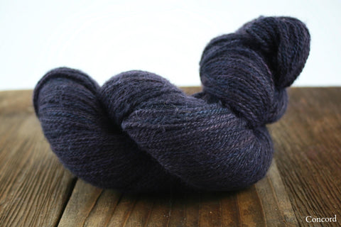 Concord Double Dyed Emily Custom Fingering Weight Yarn