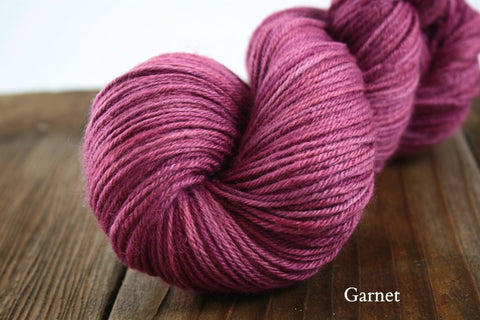 Garnet Hand Dyed Hexham DK Weight Yarn