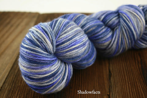 Shadowfacts Hand Painted Kona DK Weight Yarn