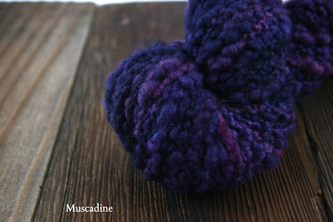 Muscadine Double Dyed Neah Bay Bulky Weight Yarn