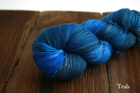 Teals Lace Merino Lace Weight Yarn Ella Rae