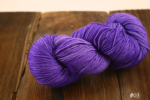 #03 Tone On Tone Purple Lace Merino DK Weight Yarn Ella Rae