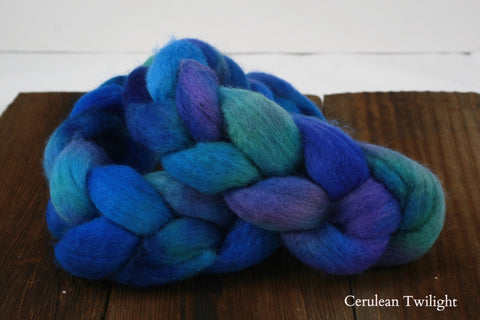 BFL Hand Dyed Roving Fiber | MJ Yarns