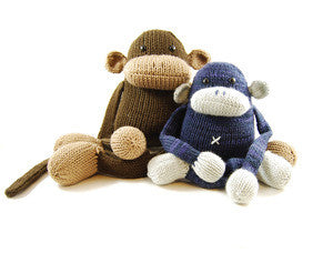 Jerry the Musical Monkey Knitting Pattern | Danger Crafts