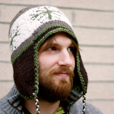 Jordan's Snowflake Toque Knitting Pattern | Tiny Owl Knits