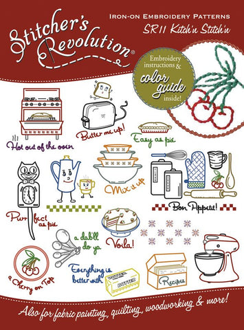 Kitchn Stitchn Hot Iron Transfers | Stitcher's Revolution