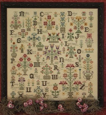 Language of Flowers Sampler Cross Stitch | S-1011 | Rosewood Manor