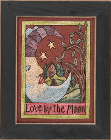 Love by the Moon Cross Stitch Kit | Mill Hill