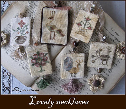 Lovely Necklaces Cross Stitch | Niky's Creations