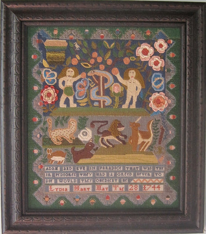 Lydia Hart Reproduction Sampler | Scarlet Letter