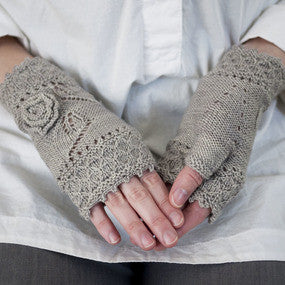 Miss Myrtle Mitts Knitting Pattern | Knit Darling/Alexis Winslow