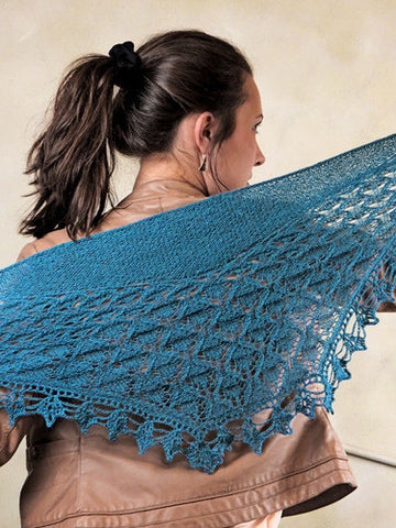 Maderia Shawl Knitting Pattern | Knit One Crochet Too