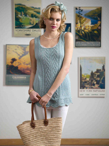 Maine Coast Tunic Knitting Pattern | Knit One Crochet Too