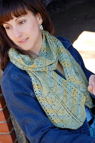 Manor Born Scarf Knitting Pattern | Knit One Crochet Too