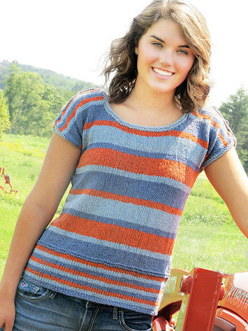 Marseilles Tee Knitting Pattern | Knit One Crochet Too