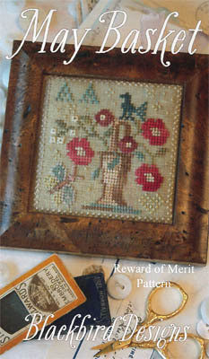 May Basket | Cross Stitch | Blackbird Designs