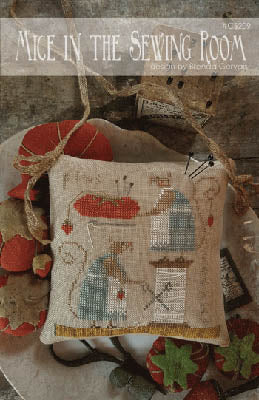 Mice in the Sewing Room | CS 209 | Cross Stitch | With Thy Needle and Thread