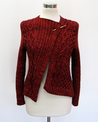 Mishke Cardigan Knitting Pattern | Coco Knits