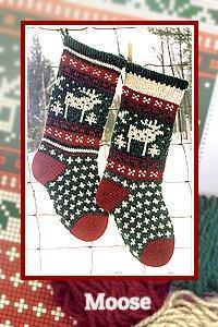 Heirloom Christmas Stocking Patterns for Hand Knitters | Annies Woolens