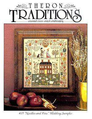 #17 New England Schoolgirl Sampler  | Cross Stitch | Theron Traditions