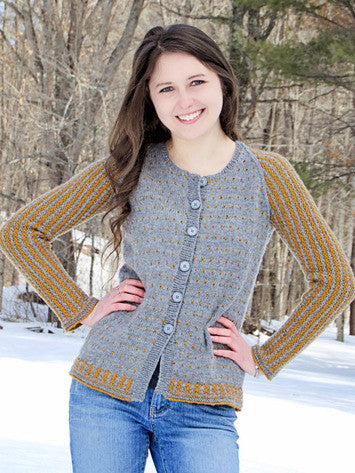 Nicole Cardigan Knitting Pattern | Knit One Crochet Too