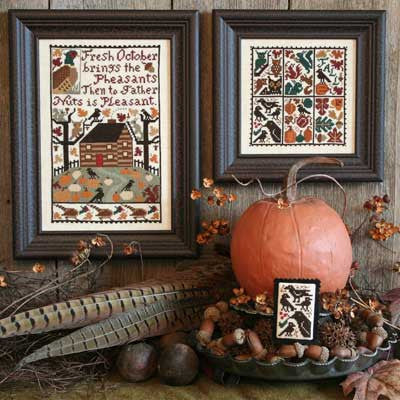 October | Book No. 164 | Cross Stitch | Prairie Schooler