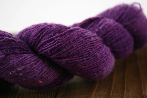 Pansy Kaycee Fingering Weight Yarn | Mountain Meadows Wool