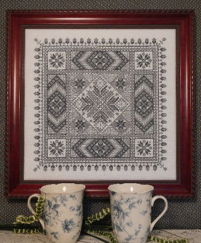 Persian Lace Sampler Cross Stitch | S-1230 | Rosewood Manor
