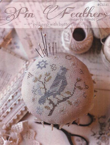 Pin Feathers | CS161 | Cross Stitch | With Thy Needle and Thread