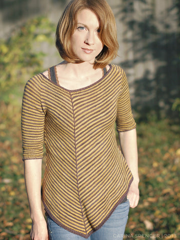 Poison Oak Sweater Knitting Pattern | Carina Spencer