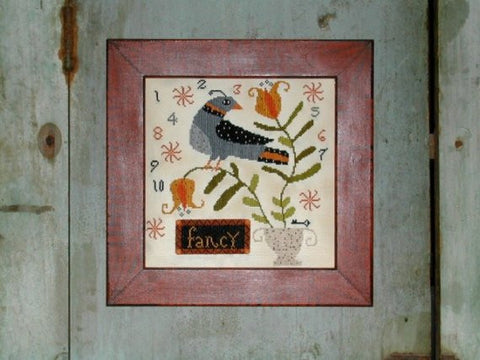 Potted Fancy Sampler | Cross Stitch | Notforgotten Farm