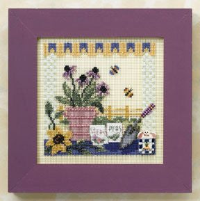 Potting Table Cross Stitch Kit | Mill Hill