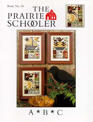 A * B * C  Reproduction Sampler Cross Stitch | Prairie Schooler