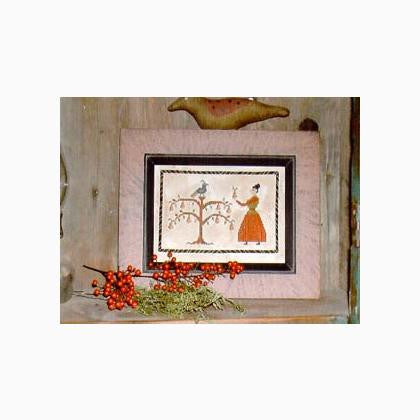 Priscilla's Partridge Sampler | Cross Stitch | Notforgotten Farm