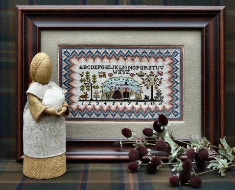 Puritan Sampler | Cross Stitch | Sampler Company