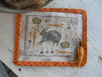 Rabbit Stew Sampler | Cross Stitch | Notforgotten Farm