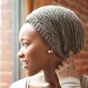 Rosendale Slouchy Hat Knitting Pattern | Knit Darling/Alexis Winslow