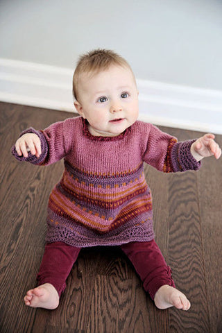 Rosie Baby Dress Knitting Pattern | Knit One Crochet Too