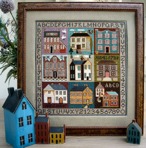 Sampler Houses | Cross Stitch | Sampler Company