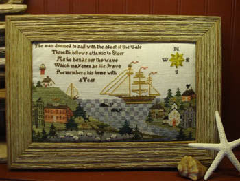 Sarah Elliot's Home Port Primitive Cross Stitch | Primitive Traditions