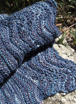 Seashore Scarf Knitting Pattern | Knit One Crochet Too