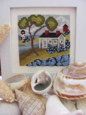 Seaside Blue  | Cross Stitch | By The Bay Needleart