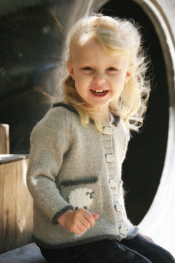 Sheepish Children's Cardigan Knitting Pattern | Never Not Knitting Press (NNK)