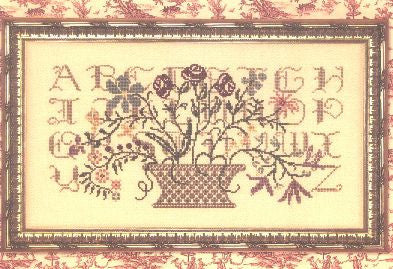 Silent Sampler Reproduction Sampler Cross Stitch | Rosewood Manor