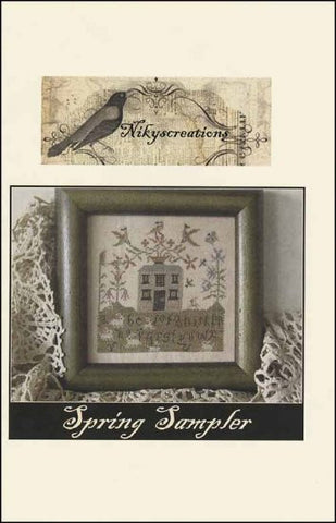 Spring Sampler Cross Stitch | Niky's Creations