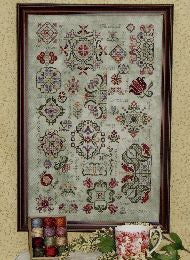 Season of Quakers Collection Sampler Cross Stitch | Rosewood Manor